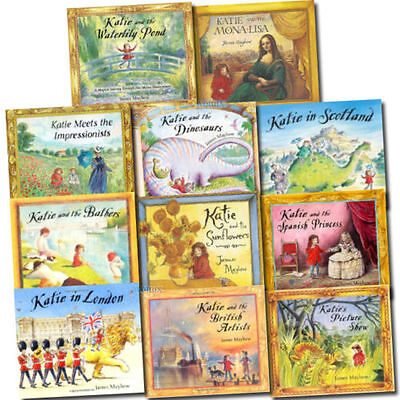 Katie Collection James Mayhew 11 Books Collection Set (Katie and the Mona Lisa)