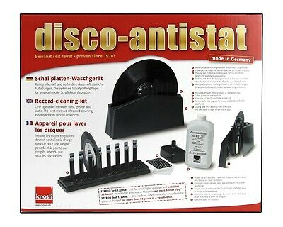 Knosti Disco Antistat Record Cleaning System + 50 Nagaoka Record Sleeves