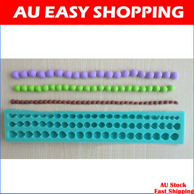 65045 pearl Silicone sugar cake decorating cutters molds soap chocolate