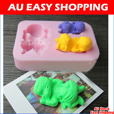 65065 Newborn Sleeping Baby Silicone sugar cake decorating cutters molds