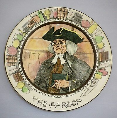 Royal Doulton Series Ware THE PARSON Rack  Plate