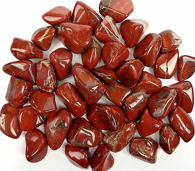 BRECCIATED JASPER  Tumbled Stone - Stone of Strength, Vitality & Mental Clarity