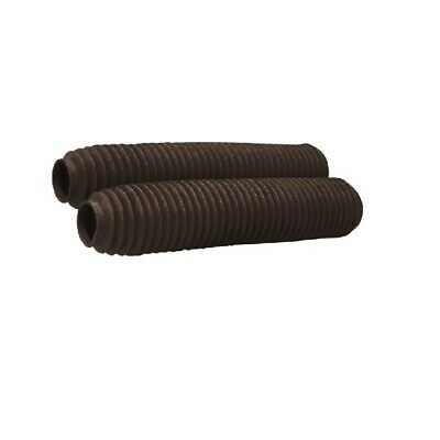 MX Front Shock Fork Rubber Boots Socks Covers60mm PairBlack