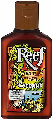 Reef Dark Sun Tan Oil Coconut 125Ml - No Spf