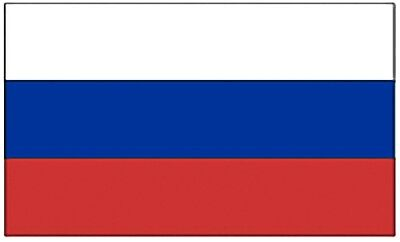 Large 3' x 5' High Quality 100% Polyester Russia Flag - Free Shipping