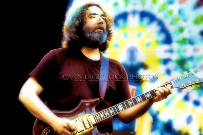 Jerry Garcia Grateful Dead Photo 8x12 or 8x10 in '70s Live Concert Fuji Print 12