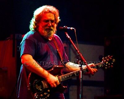 Jerry Garcia Grateful Dead Photo 8x10 inch '80s Live Concert Pro Fuji Print 8