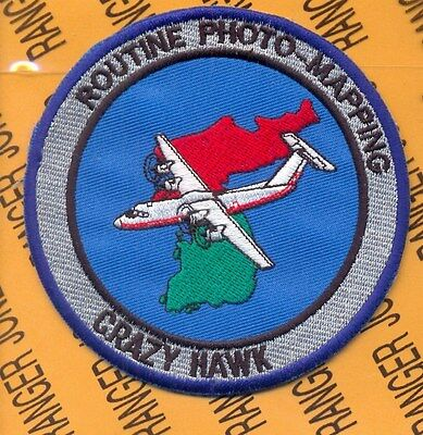 US Army Routine Photo Mapping CRAZY HAWK MI Military Intelligence Aviation patch