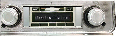 NEW USA-230 200w AM/FM Stereo Radio for your Classic 1968 Chevelle or Malibu
