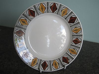Broadhurst Ironstone - MEXICO - Designed by Kathie Winkle - Tea Pate