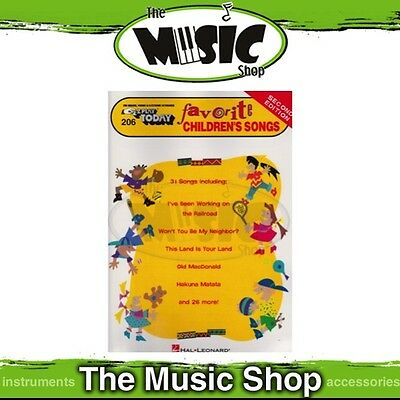 New EZ Play #206 Favourite Children's Songs Piano Music Book - 2nd Edition