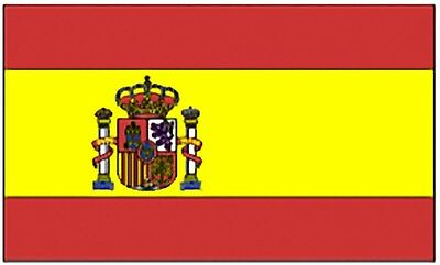 Large 3' x 5' High Quality 100% Polyester Spain Flag - Free Shipping