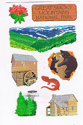 Mrs Grossman`s GREAT SMOKY MOUNTAINS NATIONAL PARK Stickers