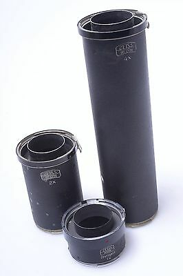 Contax Rf Zeiss Ikon Macro/copy/reproduction Tubes 1X, 2X, 4X.