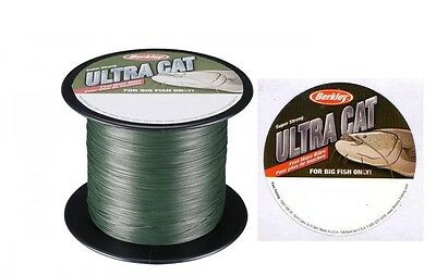 Berkley Ultra Cat Braid 220lb (100kg) 0.65mm 1000m Bulk Spool