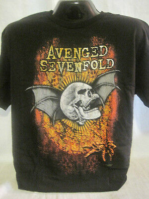 Avenged Sevenfold T-Shirt Tee A7F Heavy Metal Rock Band Apparel Music XL New 68