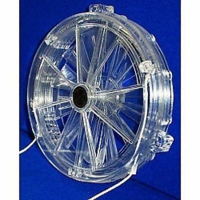 Vent-a-matic Cord Operated Single Glazing Fan 162mm 6.5 Inch Diameter Model 106