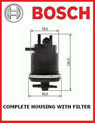 FOR PEUGEOT 206 306 307 406 806 EXPERT 2.0 HDi HOUSING INCLUDES FUEL FILTER NEW
