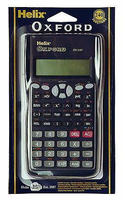 Oxford Scientific Calculator - School / Uni / Work - Ideal For Exams + Free P&p