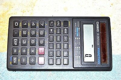 Casio FX-260Solar Scientific Calculator Fully Tested Works Perfectly