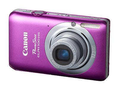 NEW Canon PowerShot ELPH 100 HS / IXUS 115 HS 12.1 MP Digital Camera - Pink