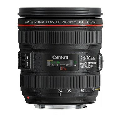Canon EF 24-70mm f/4 L IS USM      Canon # 6313B002
