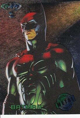 BATMAN FOREVER METAL MOVIE PREVIEW CARD 1 OF 8
