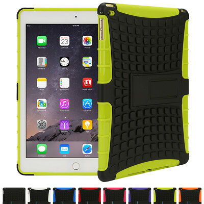 Shockproof Armour Heavy Duty Tradesman Case Cover for iPad 2 3 4 Air & Mini Pro