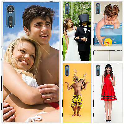 Personalised Custom Photo Hard Case Phone Cover for Multiple Sony Xperia Models