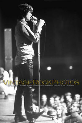 Jim Morrison The Doors 12x18 inch Poster Size Photo Live 60's Concert Print   32