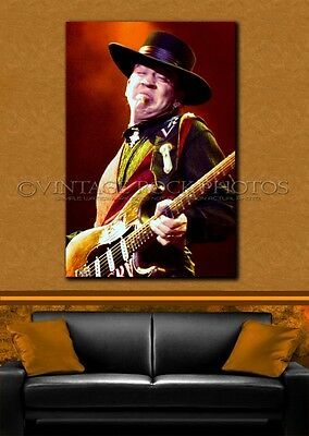 Stevie Ray Vaughan Poster 24x36 inch Photo '80s Live Concert Pro Canon Print 3-2