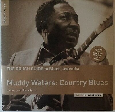 Muddy Water - Country Blues LP/Download remastered limited 180g vinyl NEU/OVP