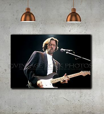 Eric Clapton 24x36 inch Fine Art Gallery Canvas Print Pro Photo Framed Gilcee 39