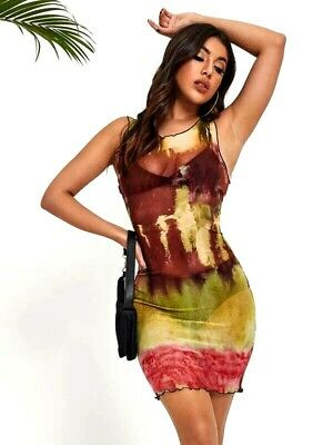 NEW Red Floral Multicolor Cocktail Maxi Summer Halter Sun DRESS Juniors S M L