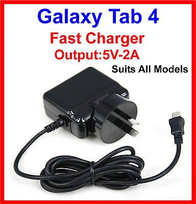 Samsung Galaxy Tab 4 10.1 T530 T535 AC Wall Charger With 1.4m Micro USB Cable
