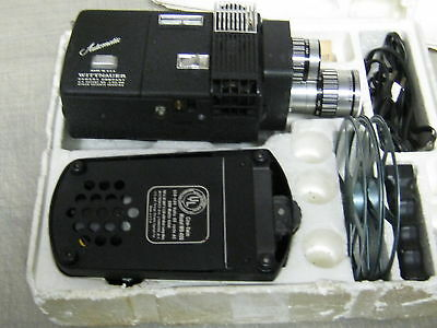 WITTNAUER AUTOMATIC ZOOM 800 CINE-TWIN CAMERA/WD400 PRO