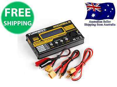 Turnigy Accucel-6 80W 10A Cell Balancer Charger - LiHV LIPO NiMH NiCD RC Plane