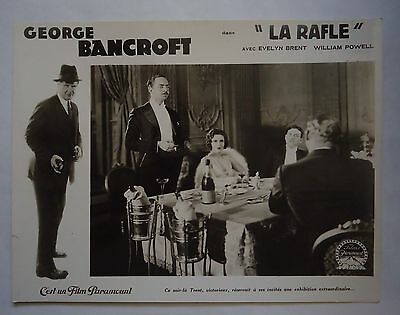 CRIME/THE DRAGNET/GEORGE BANCROFT//french lobby