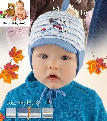 Lovely cotton boys hat spring / autumn 6 - 18 months - NEW with tags! BOY