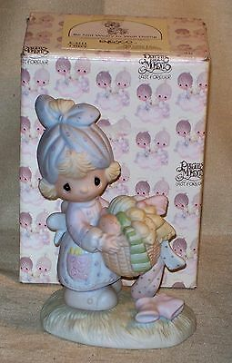 Enesco Precious Moments ~ Be Not Weary in Well Doing ~ E-1111 ~ 1979