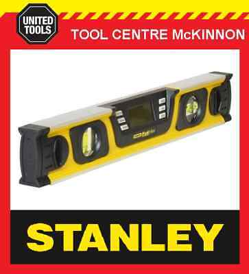 STANLEY FAT MAX 400mm DIGITAL LEVEL WITH BAG