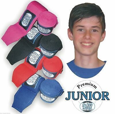 BAY® JUNIOR Boxbandagen 1,5 2,0 2,5 m Box-Bandagen Handbandagen Jugend Kinder