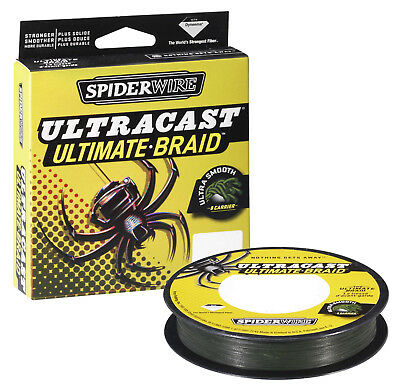 Spiderwire Ultracast 8 Carrier Braid 270m _Low Vis Green,Invisi or Hi Vis Yellow