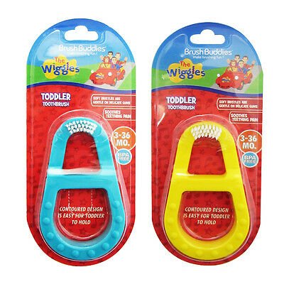 Brush Buddies The Wiggles Toddler Toothbrush - Teething-friendly brush