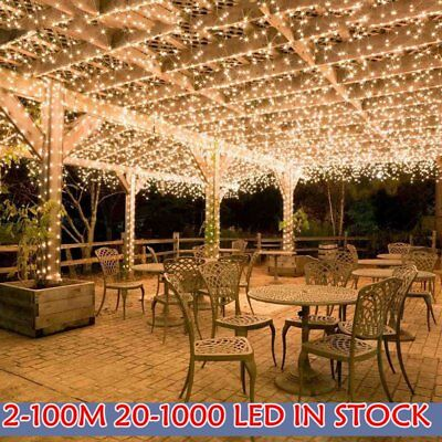 300/500/1000 LEDs String Fairy Light Christmas Xmas Party Wedding Indoor/Outdoor