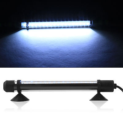 White Submersible Aquarium  Light Bar Fish Tank Waterproof  LED with UK Plug