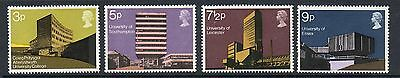 GB 1971 Architecture unmounted mint set stamps