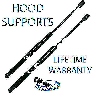 2 Front Hood Lift Supports Rod Prop For Ram Pickup Truck 02 03 04 05 06 07 08 09