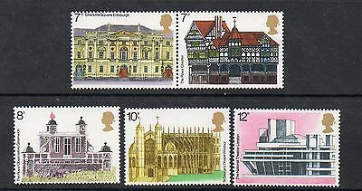 GB 1975 European Architectural Heritage Year unmounted mint set of stamps