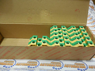 1010500000, Terminal Block 35Mm Screw Connection Grn/Yel Each